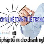 Báo giá Dịch vụ kế toán trọn gói TPHCM, Dịch vụ kế toán trọn gói TPHCM