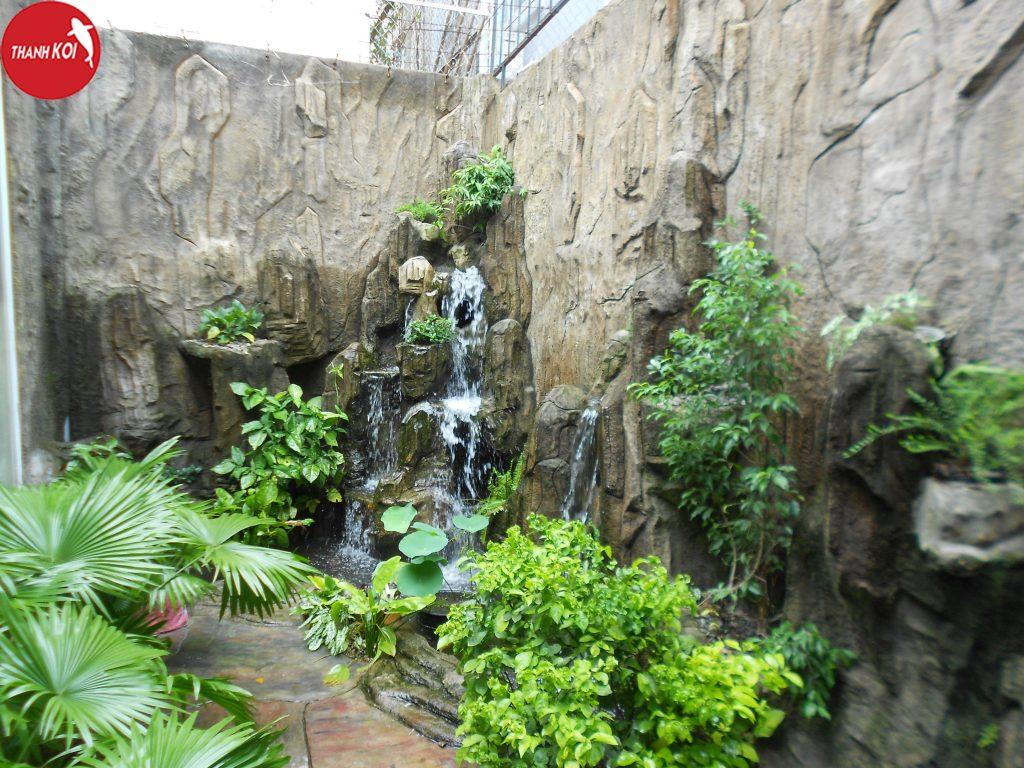 Thi công thiết kế tiểu cảnh thác nước uy tín, giá rẻ nhất tại Tphcm